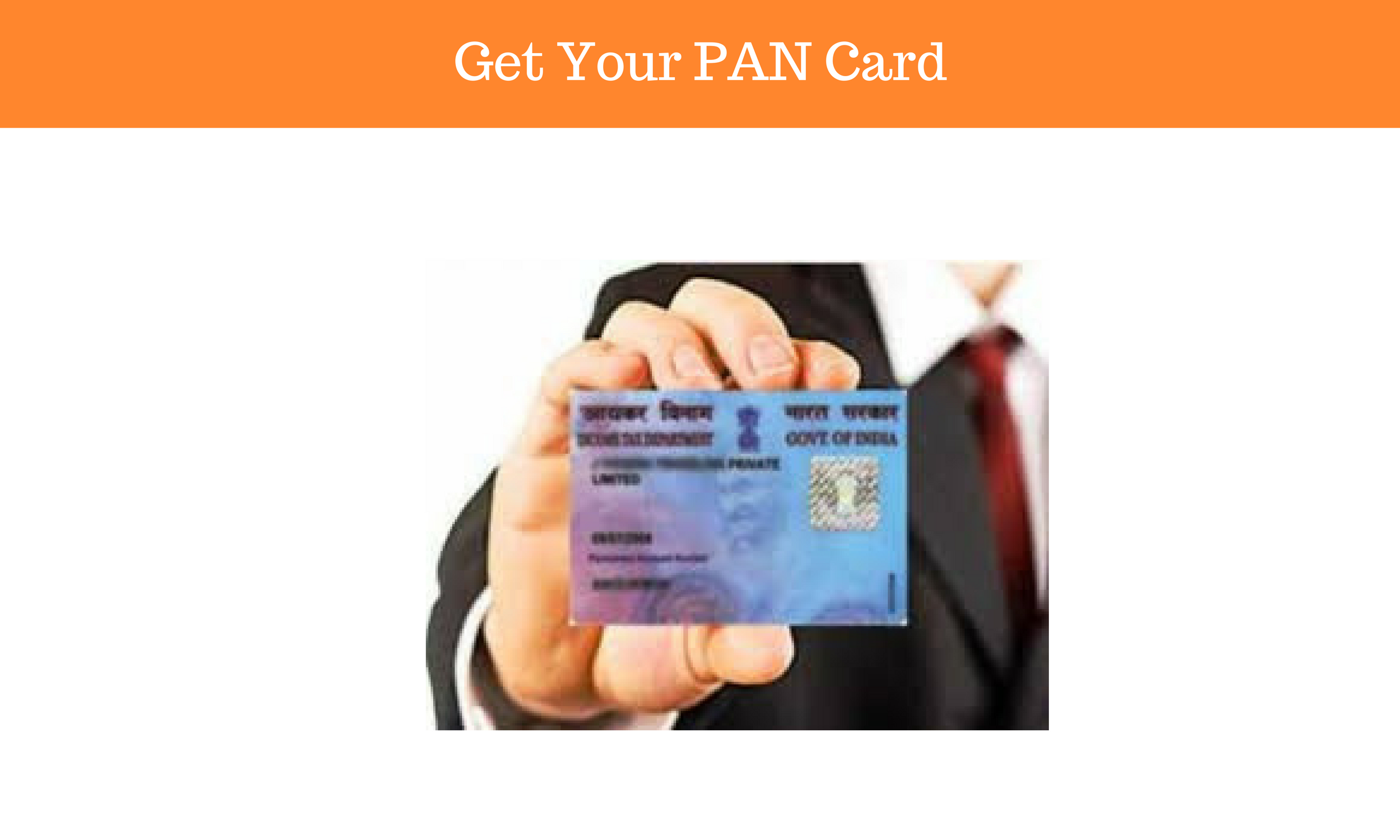 Get Your PAN Card