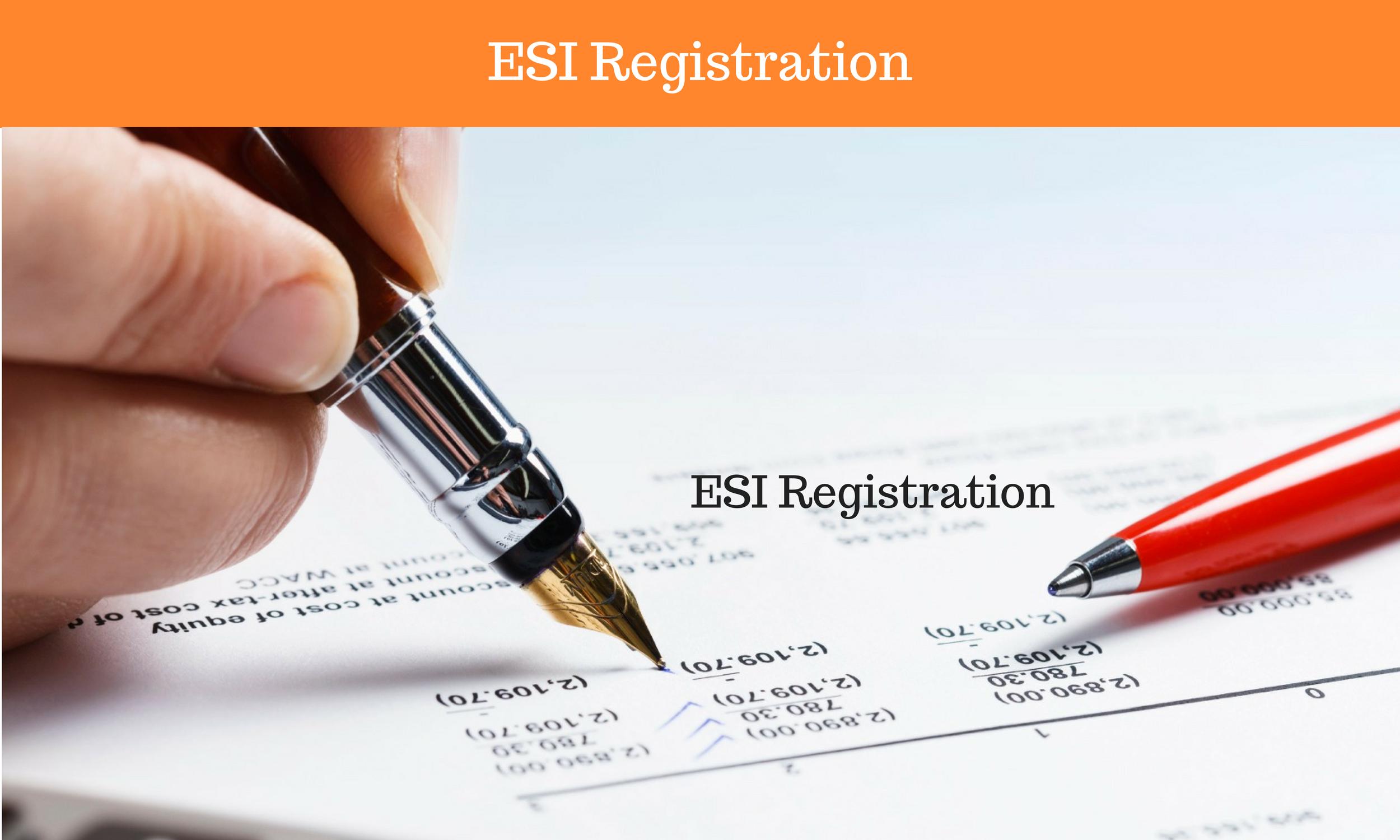 ESI Registration