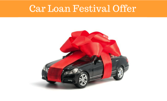 Festival offer of Car Loan